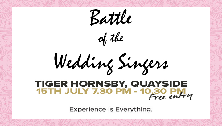 Battle of the Wedding Singers