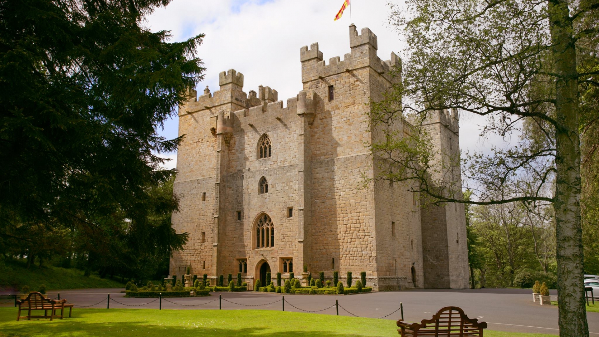 Langley Castle Exterior